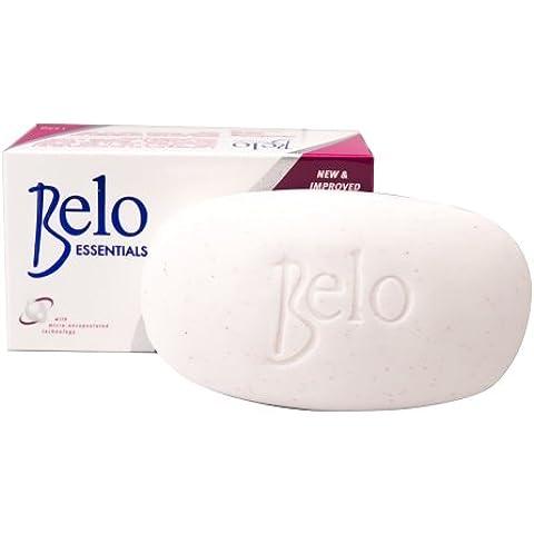 Belo Essentials Blanqueamiento n-placas cuerpo barra con ácido salicílico y microbeads para exfoliar la piel blancos & sin