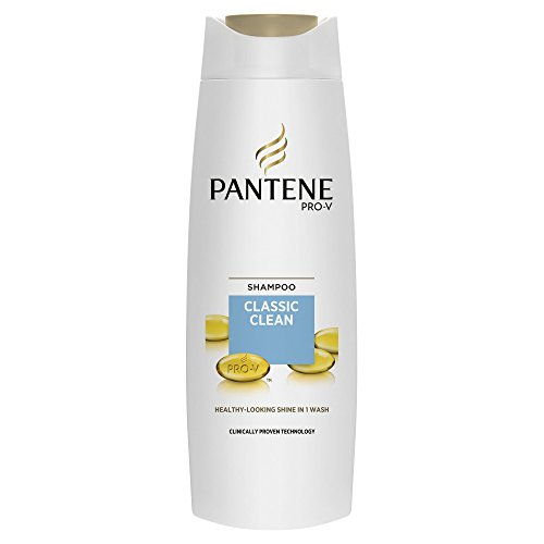 Pantene Pro-V Classic Clean Shampoo For All Hair Type, 400 ml - Pack of 6