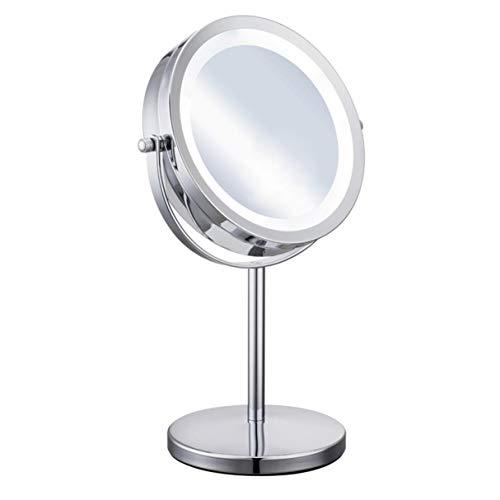 Schminkspiegel Hohe Qualität Diy Faltbare Transparent Oberfläche Make-up Spiegel Tragbare Doppel Metall Kosmetische Kleine