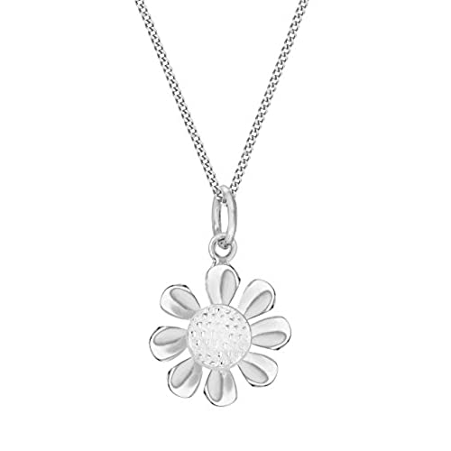Elements Silver Acorn Rose Gold and Sterling Silver Double Pendant with Chain of 41-46 cm HHCUqm