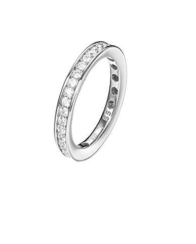 Joop! Damen-Ring 925 Silber Zirkonia weiß Gr. 57 (18.1)-JPRG90788A180