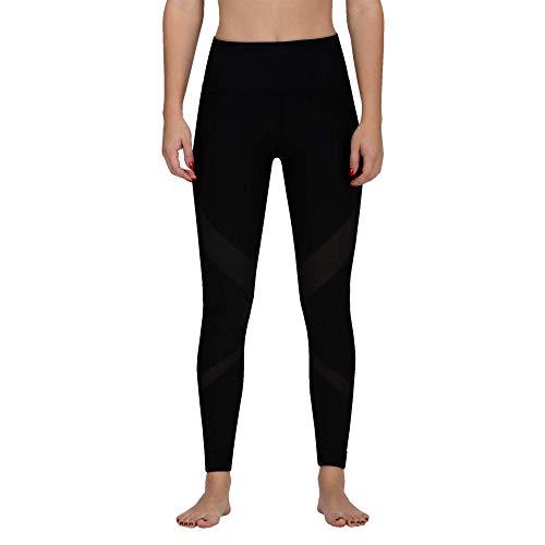 Hurley Damen W Q/D MESH SURF Legging Shorts, Black, M