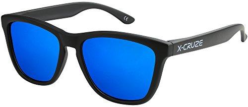 X-CRUZE 9-006 X 0 Nerd Sonnenbrillen polarisiert Style Stil Retro Vintage Retro Unisex Herren Damen...