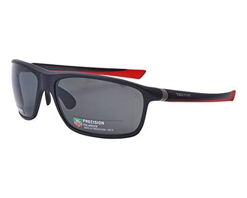 Preisvergleich Produktbild TAG Heuer Sonnenbrillen (TH-6023 802) matt schwarz - matt rot - grau polarisierte