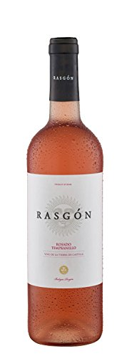 6x 0,75l - 2015er - Rasgón - Tempranillo Rosado - Vino de la Tierra de Castilla - Spanien - Rosé-Wein halbtrocken