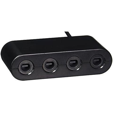 Adaptador de mandos de Gamecube (4 puertos) en Nintendo Wii U (Super Smash Bros ...)