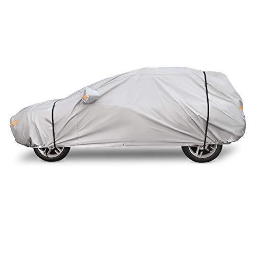 510x200x180CM Convient aux V/éhicules Hors Route SUV YXL Kayme Couverture de Voiture Imperm/éable Respirant Soleil Neige Pluie Protection ext/érieure Automobile B/âche Taille