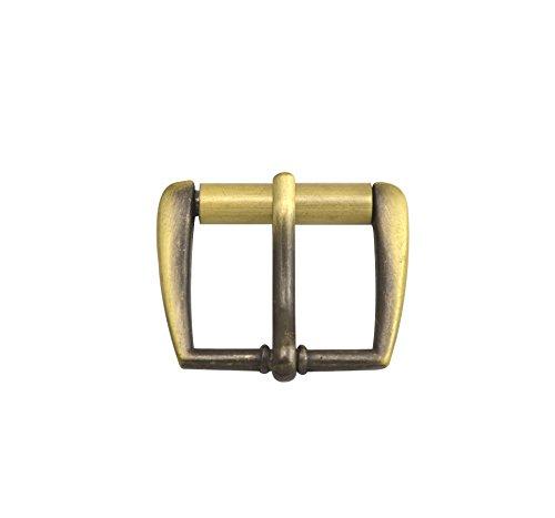 Wuuycoky - Sliding bar buckle for belt strap, brass inner size
