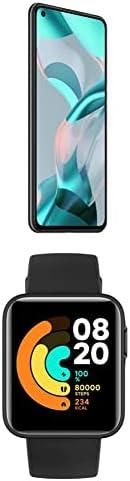 Xiaomi 11 Lite 5G NE, 128GB, 8GB RAM, 5G, Truffle Black+Mi Smart Watch Lite Black