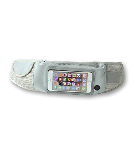 Outdoor Sports Multifunktions Taschen Taschen Joggen Stecker Frau Universal Handy Taschen Grau