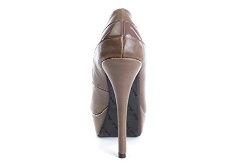 Andres Machado.AM589.Escarpins avec Plateforme.Pour Femmes.Petites Pointures 32/35.Grandes Pointures 42/45 Camel