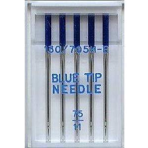 Nähmaschinennadeln Organ, Blue Tip / Sticknadeln, Stärke 75 #142