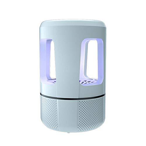 Elektrischer Insektenvernichter, UV Insektenvernichter Mückenlampe Schutz vor Elektrischem SchlagTragbare Insektenlampe gegen Mücken, Fliegen, Moskitos für Innen Schlafzimmer und Gärten (Weiß) - Garten Körper-nebel