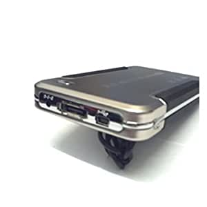 "2.5"" SATA HHD Case-USB 2.0/eSATA + OTB Back Up In GOLD"