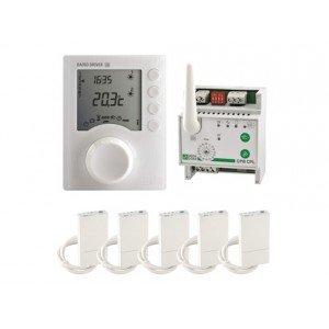 DELTA DORE - PACK PROGRAMMATEUR 3 ZONES RADIO DELTA DORE PACK DRIVER 630 RADIO CPL FP 6051123 - DEL-6051123