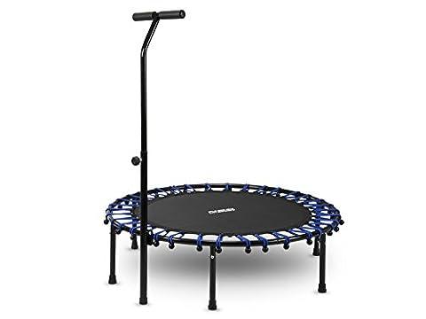 Fitness Trampolin, Jumping, Sportgerät, Indoor mit dem Griff 112 cm Neo – Sport 1100