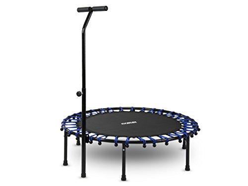 Fitness Trampolin, Jumping, Sportgerät, Indoor mit dem Griff 112 cm Neo – Sport 1100 (Neo Sport)