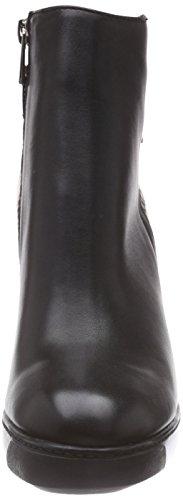 Giudecca JY1562-1, Stivali classici imbottiti a gamba corta donna Nero (Schwarz (black/E3))