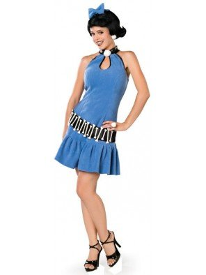 DIVERTILANDIA, Mode Betty (Betty Rubble Kostüme Für Erwachsene)