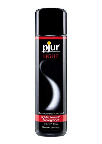 pjur LIGHT - Gleit- & Massagegel auf Silikonbasis - leichte Formulierung für lange Gleitfähigkeit und mehr Spaß beim Sex - 1er Pack (1 x 100 ml) -