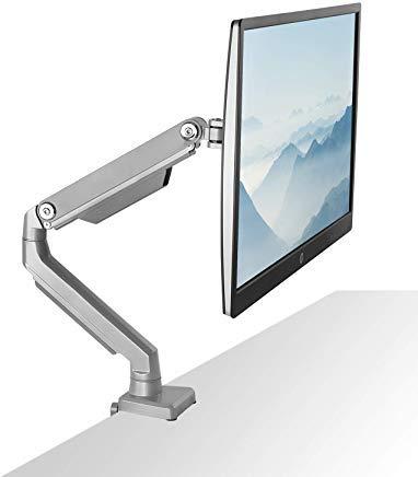 Ch Universal-single (Mount-It. Single Monitor Arm Desk Mount, Höhe verstellbar VESA Monitor Ständer für Computer 19, 20, 21, 24, 27, 29, 30, 81,3cm)