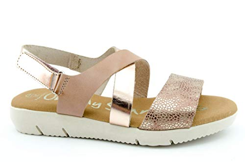 OH MY SANDALS 4315 Sandalia Plana Mujer - Mujer Color: Nude Talla: 37