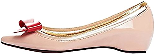 Calaier Femme Caenjoy 0CM Plat Glisser Sur Ballerines Chaussures Multicolore