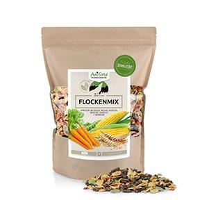 AniForte B.A.R.F. Line No10 Flockenmix 1 kg Hundeflocken Gemüse Biofutter- Naturprodukt für Hunde