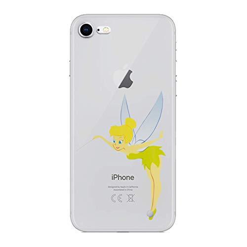 iPhone 5c Karikatur Silikonhülle/Gel Hülle für Apple iPhone 5C / Schirm-Schutz und Tuch/iCHOOSE / Tinkerbell