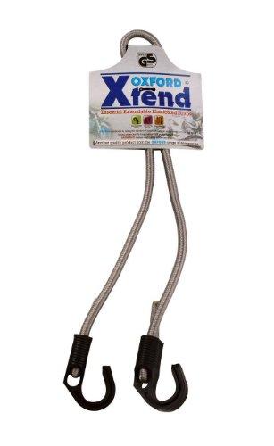 Oxford Elastikband, grau, 800mm -