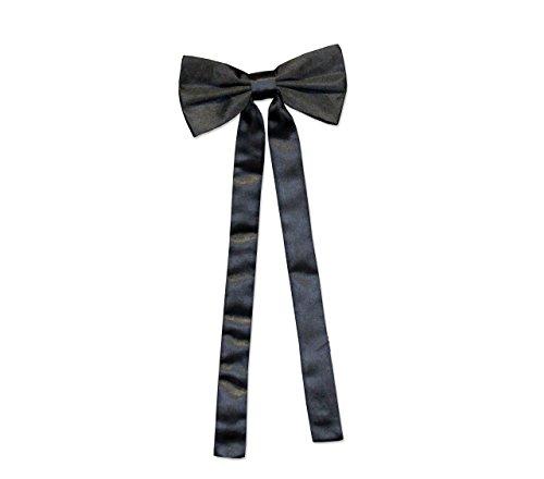 Westernschleife Schleife Fliege Westernkrawatte Old Style Tie braun schwarz bordeaux (Schwarz)