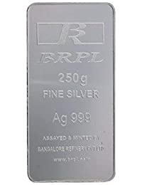 Bangalore Refinery 999 Purity Silver Bar 250 Gram