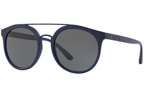 BURBERRY Herren 0BE4245 364487 53 Sonnenbrille, Blau (Matte Blue/Grey),