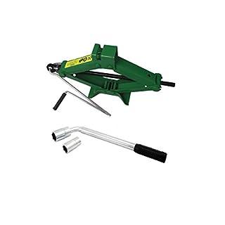 Car Breakdown/Emergency - 1 tonne Scissor Jack + Cross Wheel Brace/Nut Wrench