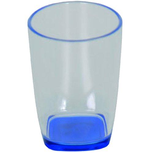 MSV 140369 Gobelet Plastique Bleu Polypropylène