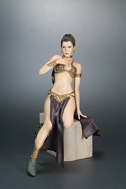 (Star Wars 1/7 Leia (Slave Dancer) 30cm PVC Statue)