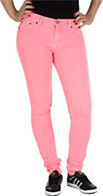 ADIDAS Originals SuperSkinny Jeans 28W 30L (Red Zest/Pink)