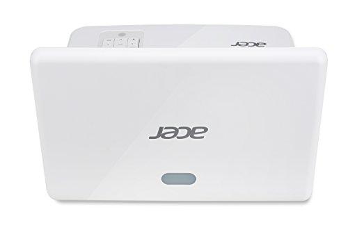 Acer U5520B DLP Projektor (Full HD 1920 x 1080 Pixel, 3.000 ANSI Lumen, Kontrast 10.000:1, Ultrakurzdistanz)