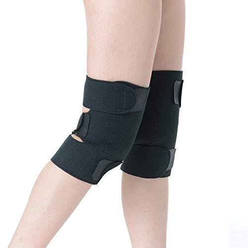 Mercerisierte Golf (YYZC Knieschoner Beinschutz Knieschoner Selbsterhitzung Kaltes Bein Magnet Kniestützender Massagepad Kniebezug)