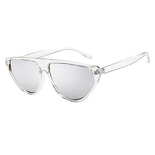 Battnot☀ Sonnenbrille für Damen Herren, Unisex Vintage Rahmen Spiegel Objektiv Form Mode Anti-UV Gläser Sonnenbrillen Schutzbrillen Männer Frauen Retro Billig Sunglasses Women Eyewear Eyeglasses