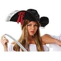 Rubie' s ufficiale cappello da pirata, da adulto, taglia unica