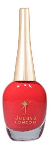 JACAVA London Bohemian red Nagellack, 1er Pack (1 x 0.012 l)