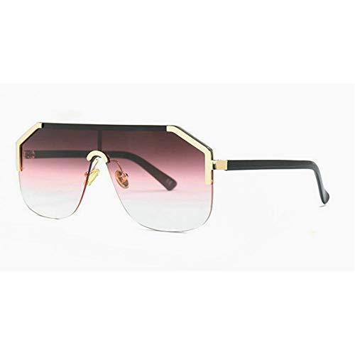 GBST Women's one-Piece Lens Square Sunglasses,C3