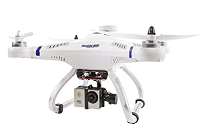XciteRC 15001610–RC Quadrocopter Drohne Rocket 400 GPS, RTF with Brushless Gimbal and Full HD Action Camera Mode 1 from XciteRC