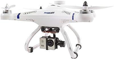 XciteRC 15001610 - drone cuadricóptero con mando a distancia, Rocket 400 GPS, RTF con escobillas cardán y Full HD Acción Modo de cámara 1
