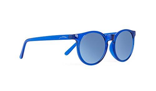 MISS HAMPTONS Unisex Sonnenbrillen  Alcide , blau (montura azul lente blue chrome), größe Einheitsgröße