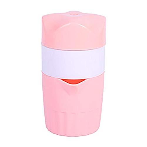 300Ml Portable Manual Juicer Hand Lemon Orange Juicer Fruit Squezer Mini Lemon Citrus Juicer Extractor Für Zuhause,Pink