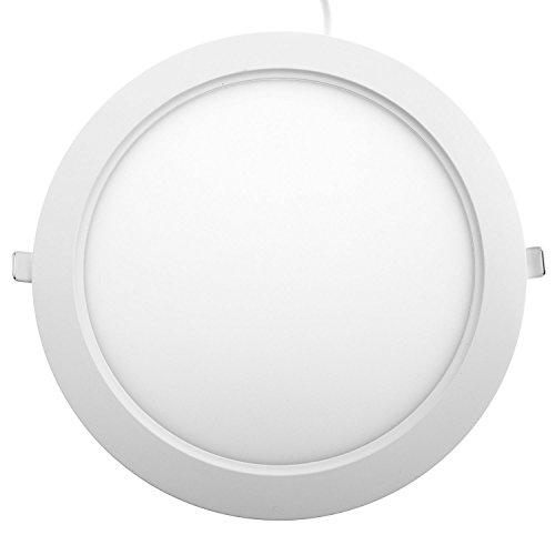 Kompakte Einbauleuchten (Taloya Star 18W LED Einbauspot Einbauleuchte Spot, Plastik, 18 W, Warmweiß, 22,5 cm)