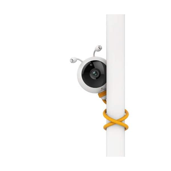 "Wisenet SEW3048 Video Baby Monitor 4.3"" with Eco Flex Fit Digital Camera. Mother&Baby Best Baby Monitor Gold Award 2019. LCD Wide Screen, Fast Video and Sound Response Wisenet Two-way communication enabled so you can talk to, soothe and relax your little one from anywhere in your home Crystal clear night vision allows you to keep an eye on your little one without any worry in crystal clear quality 7 bedtime music and white noises that will help to soothe your little one and keep them relaxed throughout the night 6"
