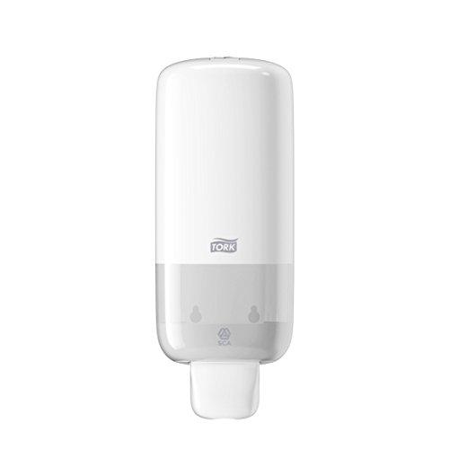 Tork 561500 Dispensador para Jabón en Espuma/Dosificador Elevation compatible con el sistema S4 / Blanco